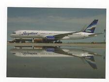 Yakutia Airlines B757 at Yakutsk Airport Aviation Postcard, A630