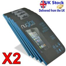 TWIN PACK 100% Genuine Nuglas for IPHONE 7 Tempered Glass Screen Protector
