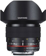 SAMYANG 14 mm F/AE 2.8 ED IF UMC Wide Angle Lens-per Nikon
