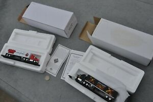 HO Scale 1/87 Matchbox Mattel MINT PAIR 18 wheeler Beer trucks Dos Equis Red Dog