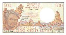 Djibouti 500 Francs 1988 Unc pn 36b