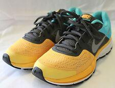 NIKE ~ Pegusus 30 Yellow Grey & Aqua Running Shoes Sneakers US 7.5 UK 5 EU 38.5