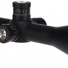 Valiant Zephyr 6-24x50 SF 20x 1/2 Mildot IR Rifle Scope