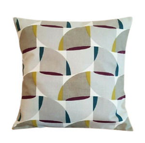 """14"""" 16"""" 18"""" 20"""" New Cushion Cover Mulberry Grey Geometric Design"""