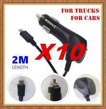 10 x Micro USB Car Charger 12-24V For Samsung Galaxy S3 S4 S5 Note2 HTC Nokia LG