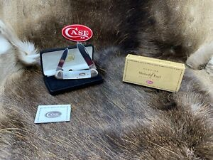 2006 Case Mother of Pearl Canoe Knife Mother of Pearl Knife Mint In Box 97C