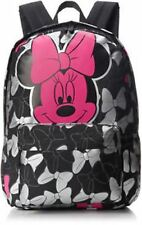 NWT Loungefly Disney Minnie Mouse Pink With Black & Silver Bows Backpack