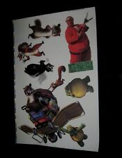 "Original OVER THE HEDGE MOVIE THEATRE STATIC CLING DECALS 27"" X 40"""