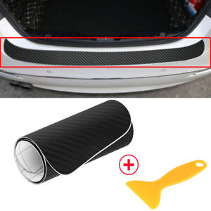 Self-adhesive Car Front Rear Bumper Protector Corner Guard Scratch DIY Accessory