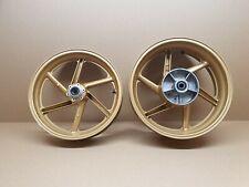 Honda CBR900RR Fireblade Front & Rear Wheels rims , Gold Pair ,Fits 1996 - 1997