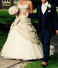 ian stuart beauty queen wedding dress size 12