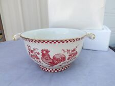 Lenox Provincial Rooster Bowl Centerpiece Limited Edition #'d in original box