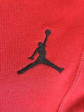 Mens Jordan Red Tracksuit Bottoms Medium New No Tags