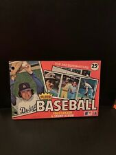 1982 Fleer MLB Baseball Sticker Logo And Stamp Album Book