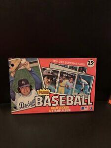 1982 Fleer MLB Baseball Sticker Logo And Stamp Album Book
