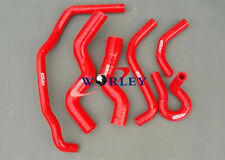 Silicone Radiator Heater Hose For Holden Rodeo TF 2.8L Turbo Diesel 90-97 96 RED