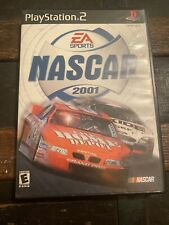 Nascar 2001 Playstation 2 Complete With Manuel Tested And Works Free Shipping!