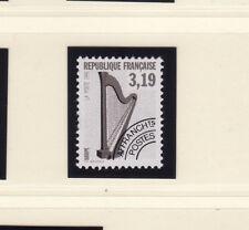 timbre France préoblitéré  musique    harpe     n° 220  **