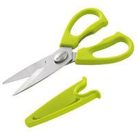 SCANPAN Spectrum Soft Touch Kitchen Shears w/ Sheath Green Take-apart Design!