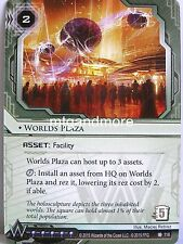 Android Netrunner LCG - 1x Worlds Plaza  #116 - The Universe of Tomorrow