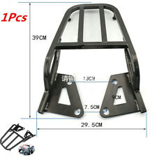 1Pcs Universal Black Motorcycle Luggage/ Tool Box Bracket Seat Extension Shelf