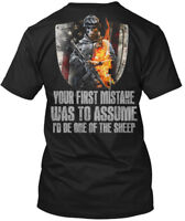 Its A Veteran Thing ! - Your First Mistake Was To Hanes Tagless Tee T-Shirt