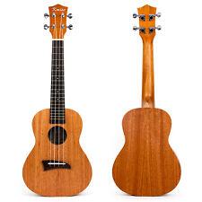 Concert Ukulele Uke 23 Inch Hawaii Guitar 4 String Matt Laminated Mahogany Gift