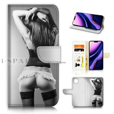 ( For iPhone 11 Pro Max ) Wallet Flip Case Cover AJ40141 Sex Girl