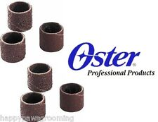 6 pc Oster Gentle Paws Grooming Nail Grinder Trimmer Fine&Medium Sanding Bands