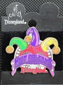 Disneyland JESTER'S HAT NEW ORLEANS SQUARE 1998 Attraction Pin - Disney Pins
