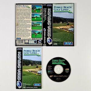 ©1995 SEGA Saturn PEBBLE BEACH GOLF LINKS Pal Sport/Mehrspieler/1-6 Player