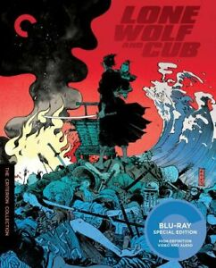 LONE WOLF AND CUB - CRITERION COLLECTION BLU-RAY [UK] NEW BLURAY