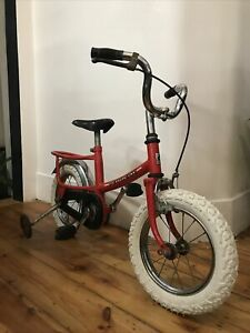 Childs Vintage Peugeot Bike - First Bike With Stabilisers London SW2