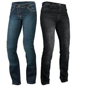 Motorbike Motorcycle jeans Reinforced Ladies Protective bike denim trouser