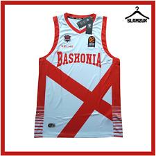 More details for baskonia basketball jersey kelme xl away euroleague liga acb top 2017 2018 d23
