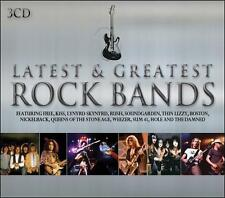 Latest & Greatest Rock Bands by Various Artists (CD, May-2011, 3 Discs, Union...