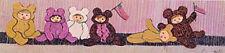 My Six Little Bears  - Pat Buckley Moss- Ltd Ed  Print