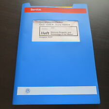 Workshop Manual VW Golf 4 1J Bora Motronic Injection Ignition System 5-zyl VR5