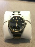 SEIKO MEN'S SNE368 SOLAR ANALOG DISPLAY JAPANESE QUARTZ WATCH (PRE-OWNED)