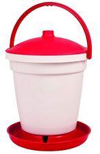 Eton TS18 Red Plastic locking drinker with handle. Optional legs. 18lt