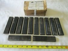 """Box of 12 Paramount 1/2"""" x 1 1/4"""" x 5"""" Drill Pipe & Casing Tong Dies T16401-2-T"""