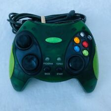 Xbox Intec Controller For Original Microsoft Xbox Console Green Tested Works