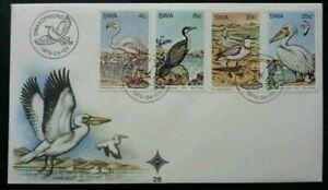 [SJ] South Africa Birds 1979 Sea Animal Wild Life (stamp FDC)