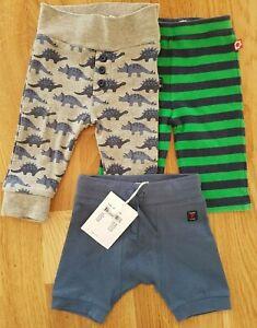 JoJo Maman Bebe Polarn O. Pyret 0-6 months boy leggings trousers dinosaur baby