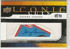 2008 Upper Deck Mystery Iconic Cuts Redemption #IC73 George Connor 18/70 Bears