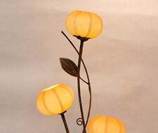 Oriental Asian Yellow Paper Lantern Shade Lampshade Designer Floor Table Lamp