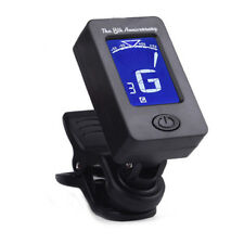 Guitar Clip Tuner 360-degree Rotating Electronic Digital For Acoustic