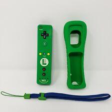 Luigi Wii Remote Motion Plus Controller EUC With Silicon Case Nintendo TESTED