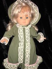 "Rare Collectible Ltd. Edition Doll~early 1980's- Italian Fibra Collection~ 15"""