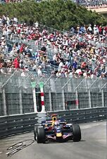 David Coulthard Firmato a Mano RED BULL RACING 18x12 foto 8.